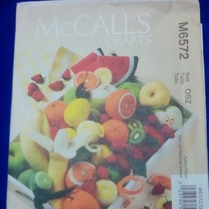 McCall's Fabric Fruit By Linda Carr